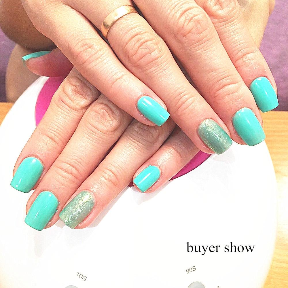 100pcs Dual Clear gel Nail System Form for Uv Acrylic false nail Art ...