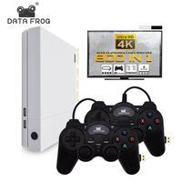 Данные лягушка 4 к HDMI Игровая консоль Встроенный 800 классические игры для MD/NEOGEO/PS1/максимум до 32 Гб Ретро игровая консоль