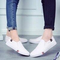 BINHIIRO/весенне-осенняя повседневная обувь для мужчин, парусиновая дышащая прочная обувь для взрослых без шнуровки, базовая обувь для пар, муж...
