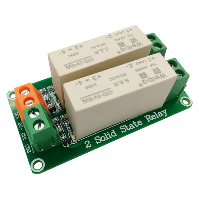 Aliexpresscom Buy 2 Channel Low Level Trigger Solid State Relay - Solid State Relay Low Current