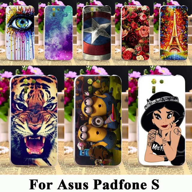 TAOYUNXI Soft TPU Silicone Phone Case For Asus Padfone S PF500KL ZenFone Go ZB500KL 5.0 inch  Shell Cover Gel Phone Skin Bag