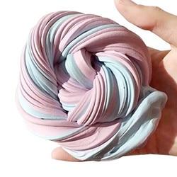 60 ml Flauschigen Schaum Schleim Kitt Stress Relief Magie MultiColor Schleim Schlamm Baumwolle Schlamm Spielzeug schleim spielzeug anti-stress-spielzeug plastice ton