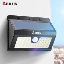 ARILUX AL-SL07 Waterproof IP65 45 LED Solar Light Wireless PIR Motion Sensor Solar Powered Outdoor LED Garden Light Wall Lamp