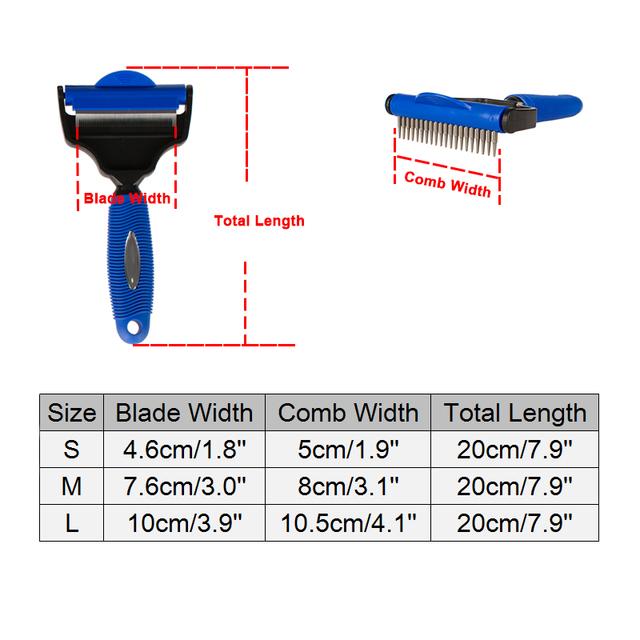 Pet Grooming Hair Comb