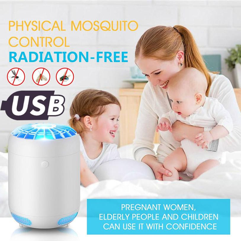 Electric Pest Repeller Ultrasonic Rejector Mouse Fly Bug Zapper Mosquito Insect Repeller Killer LED Light Trap Lamp Pest Control