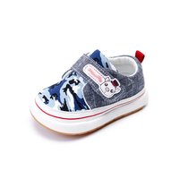 Baby Boys Girls Canvas Toddler Sneaker Anti Slip First Walkers Camouflage Color Shoes