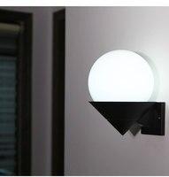 Sótão lâmpadas de parede quarto escadas corredor banheiro terraço criativo acrílico sun sombra única cabeça luzes de parede-fg765
