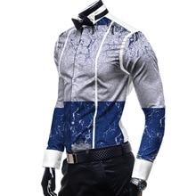 African Clothes Dashiki Fashion Men Formal Shirts Full Long