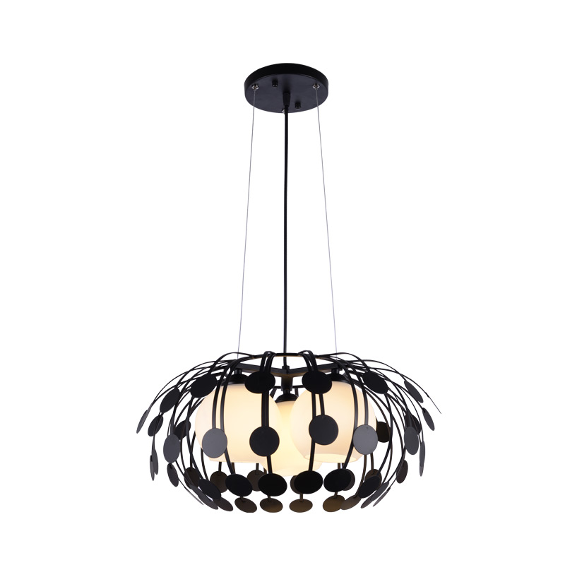 Pendant Light bedroom ceiling lamp led hall modern simple living room dining room study lamps and lanterns 2214 noosion modern led ceiling lamp for bedroom room black and white color with crystal plafon techo iluminacion lustre de plafond