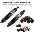 2 шт. алюминиевый передний  задний амортизатор для Traxxas Slash 4x4 RC 1:10 автомобиля ALI88