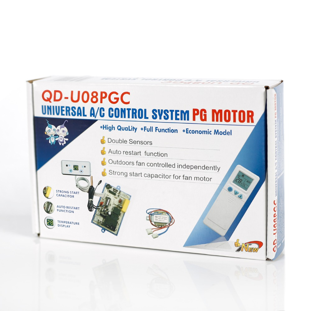 Высококачественный универсальный кондиционер пульт дистанционного управления мотор PG QD U08PGC контроллер - 6