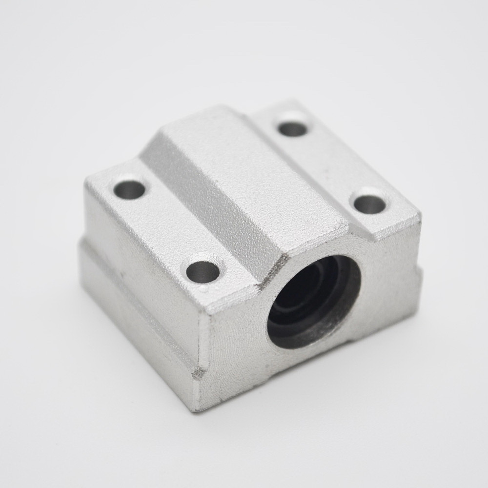 1pc SCS25UU/SC25UU Linear Bearing 25mm Linear Slide Block ,free shipping 25mm CNC Router linear slide For 25mm Linear Shaft free shipping sc16vuu sc16v scv16uu scv16 16mm linear bearing block diy linear slide bearing units cnc router