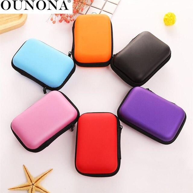 OUNONA Multi-Uso Borsa Auricolare Cavo USB di Viaggio Sacchetto di Immagazzinagg