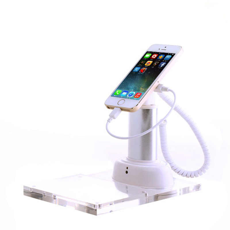 10xPhone security stand tablet display holder ipad burglar alarm phone retail alarm cellphone anti-theft device for shop