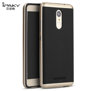 For Xiaomi Redmi Note 3 Pro Case iPaky Original Brand PC Frame+Silicone Hybrid Back Cover Cellphone Case for Xiaomi Redmi Note 3