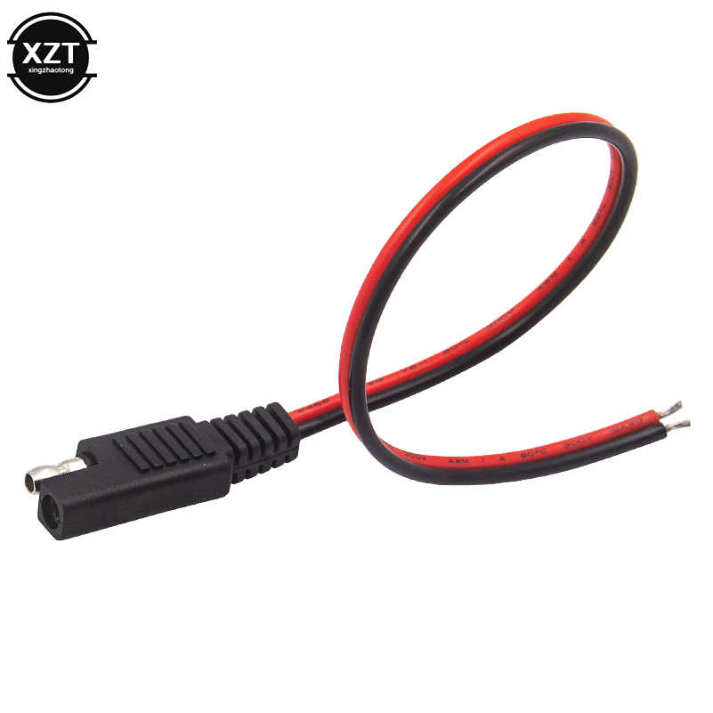 18AWG DC Power Automotive Plug Battery Tender SAE DIY Cable Extension Cord-Cab/&T