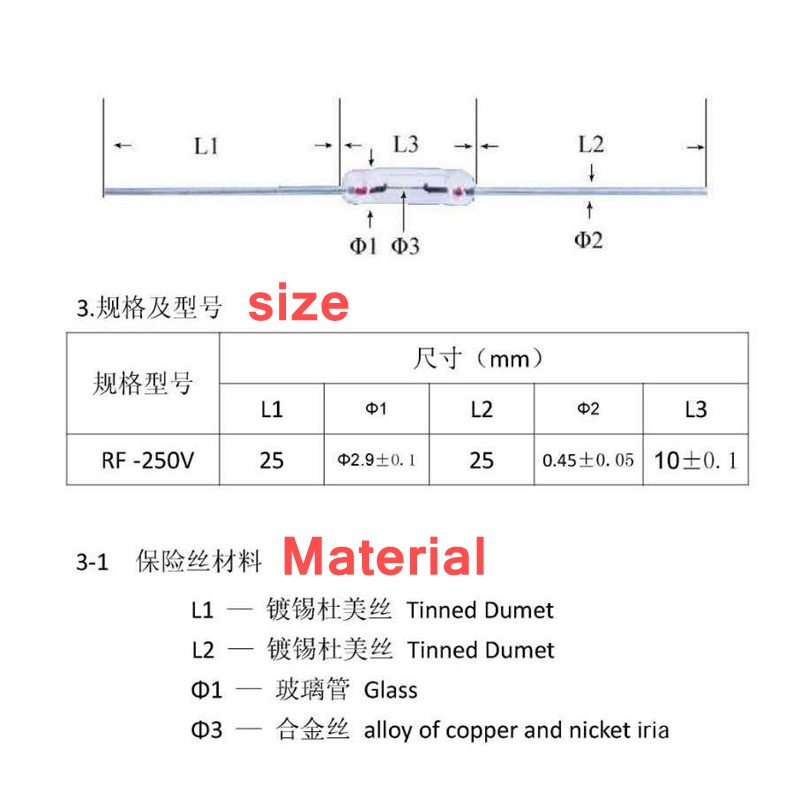 50 шт. 3*10 мм 0.5A/1A/1.5A/2A/3A/4A/5A осевой Быстрый стеклянный предохранитель с подводящего провода 3*10 0.5A 1A 1.5A 2A 3A 3.15A 4A 5A