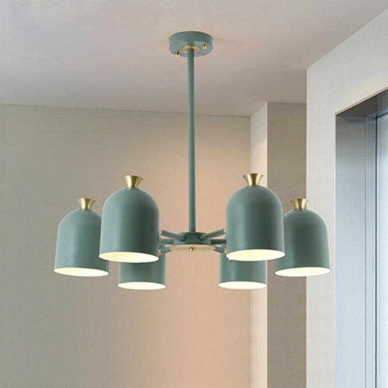 Indoor LED Innen Licht Kronleuchter Hause Dekorative Bunte Suspension LED Lampe Für Wohnzimmer Schlafzimmer Esszimmer Leuchte - 5