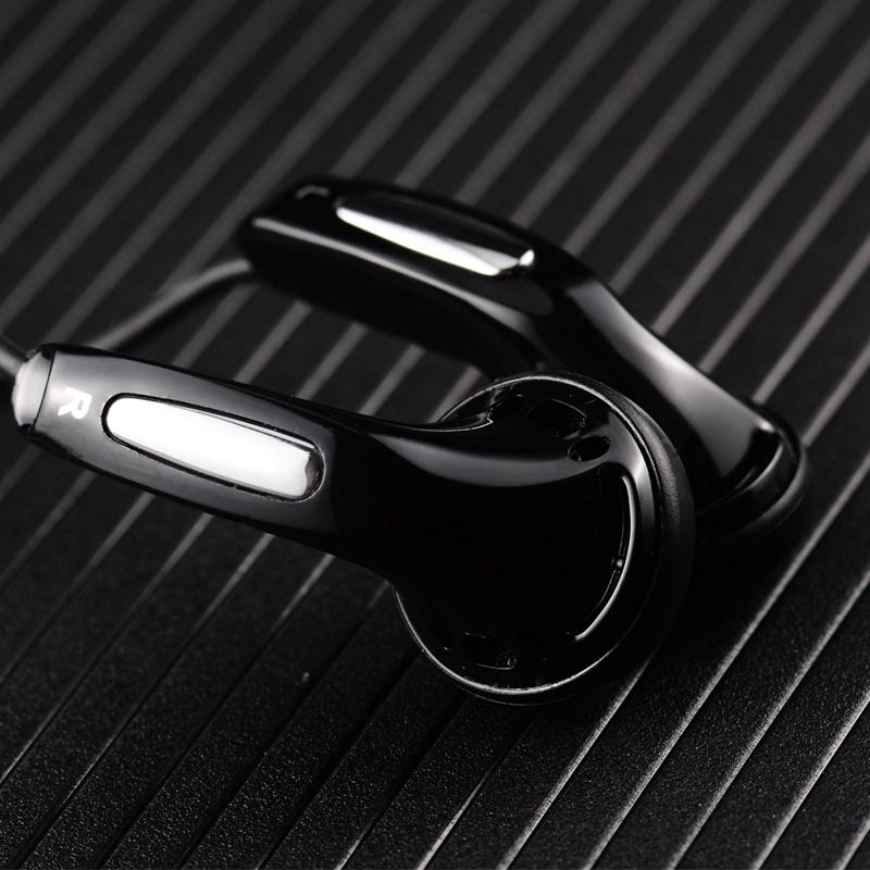 HANGRUI Qian25 Dynamic Flat Head Plug Earphone 3.5mm In ear Headset HIFI Earphone Bass Earbud For iphone xiaomi Smartphone MP3  (4)