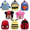 Новая симпатичная детская школьная сумка  мультяшный плюшевый мини-рюкзак для детского сада  для мальчиков и девочек  подарок для детей  Сту...