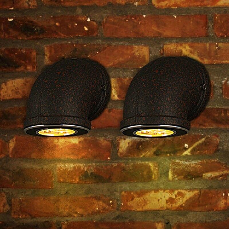Лофт ретро шамдар қонақ бөлме клубы - Ішкі жарықтандыру - фото 5