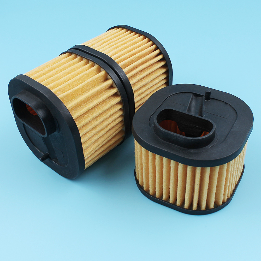 3Pcs/lot Air Filter Element Cleaner Kit For Husqvarna 372XP 362 365 371 372 372XPW XPX-TORQ Chainsaw [#503818004/503818001]