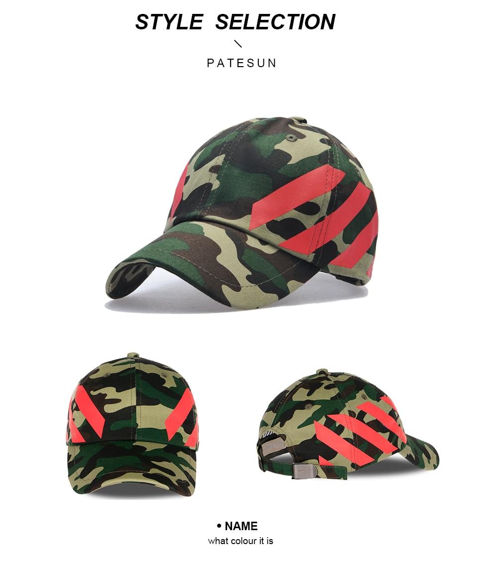d84edbe160e PATESUN Hot New Camouflage Baseball Caps Snapback Cap Women camo Dad Hats  Men Outdoor Hockey motorcycle bone aba reta masculino