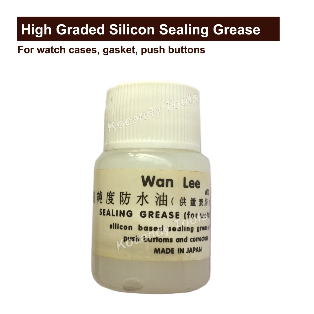Silicone Grease Waterproof Watch Cream for Oring and Gasket Upkeep Repair Restorer Tool For Watch Repairing Made in JapanSilicone Grease Waterproof Watch Cream for Oring and Gasket Upkeep Repair Restorer Tool For Watch Repairing Made in Japan