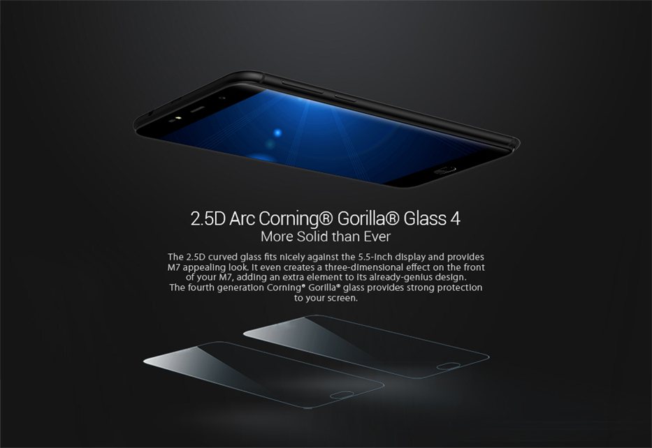 LEAGOO M7 3G Smartphone Android 7.0 5.5 Inch 1GB RAM 16GB ROM Quad Core Dual Back Camera Fingerprint Mobile Phone (15)