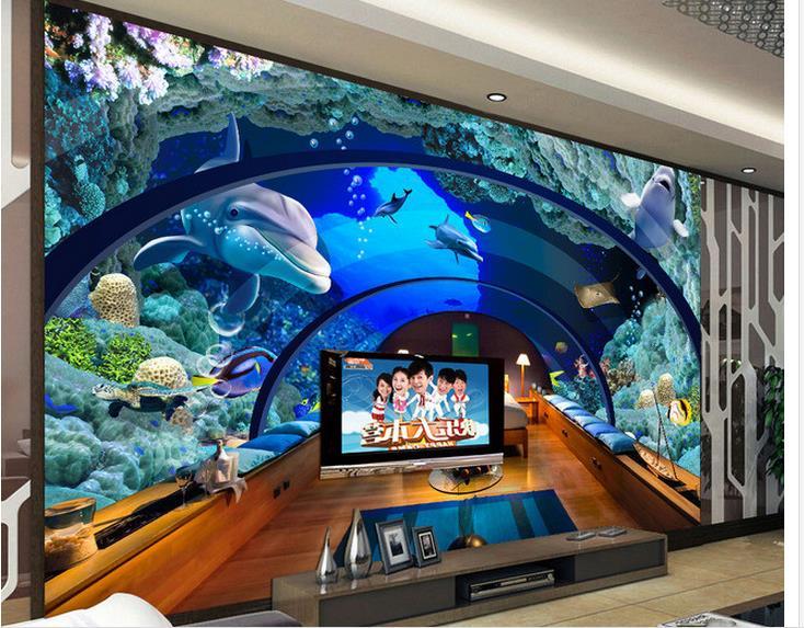 d fondo de pantalla mural d wallpaper acuario underwater world pared de fondo d