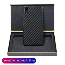 real pure carbon fiber fashion ultra-thin mobile phone case for iPhone