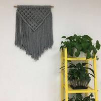 Tassels Wall Hanging Creativity Handmade Woven Home Decor Retro Nordic Cotton Rope Craft Handcrafted Wedding Decoration Gifts