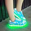 Новая Мода Кроссовки Schoenen мужчины Повседневная Chaussures Femme Светящиеся Обувь Led Для Взрослых Lumineuse плюс большой size35-46