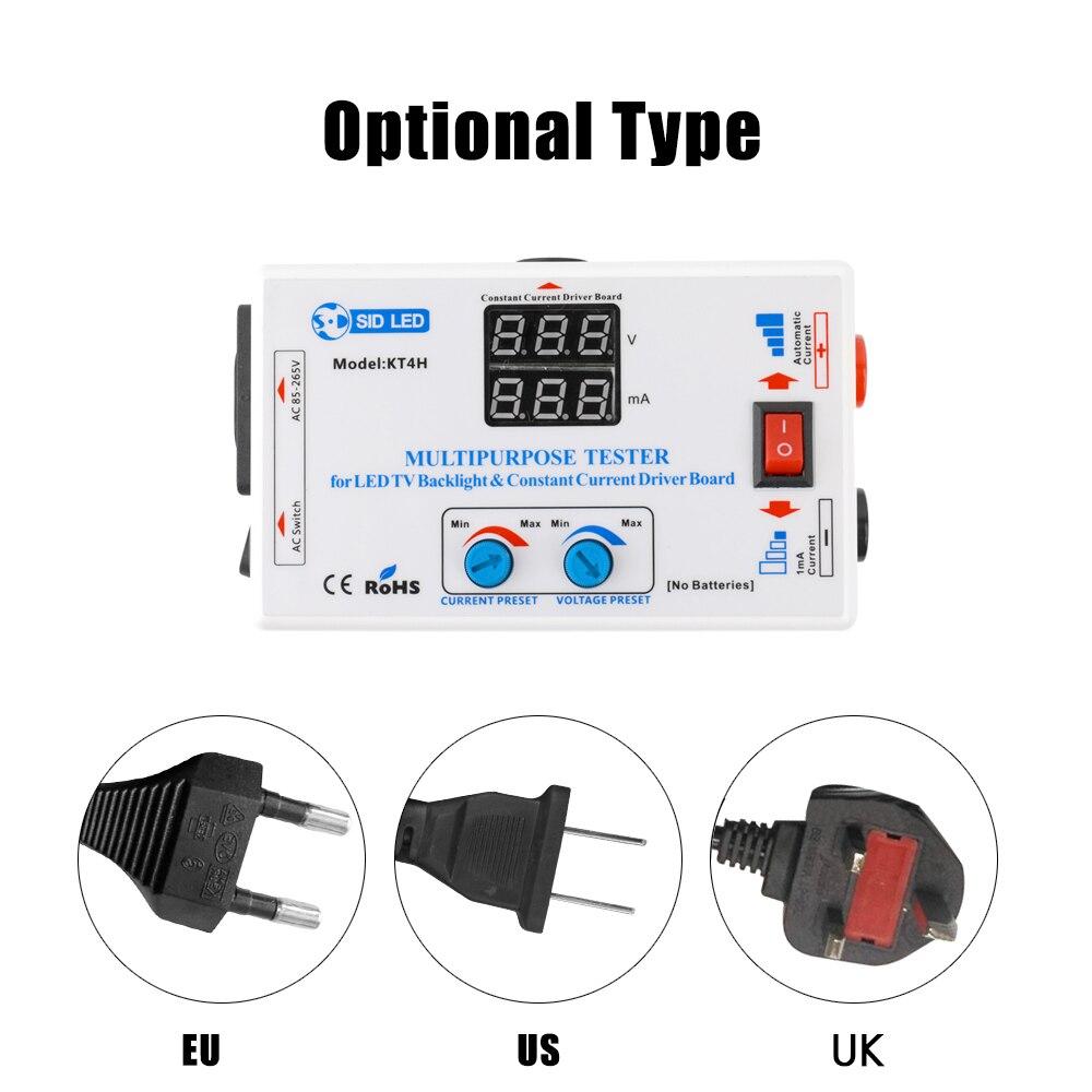 0 330V EU US UK plug Screen Led Backlighting LED Tester LCD TV LED backlighti Tester