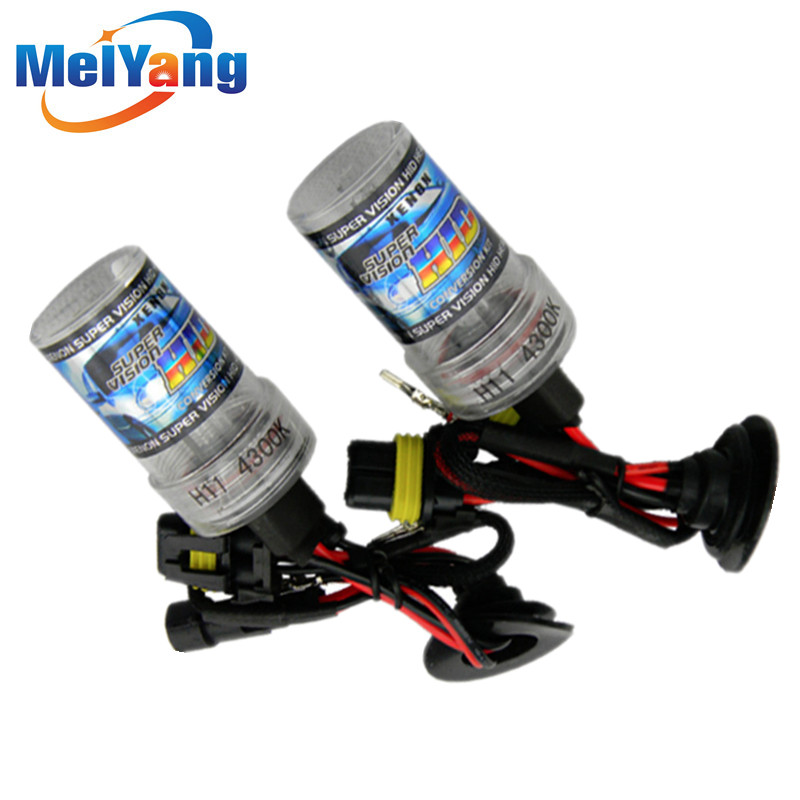 H1 HID Xenon Pure White Replacement Car 6000K 35W Headlight Headlamp Bulb Lamp parking Car Light Source
