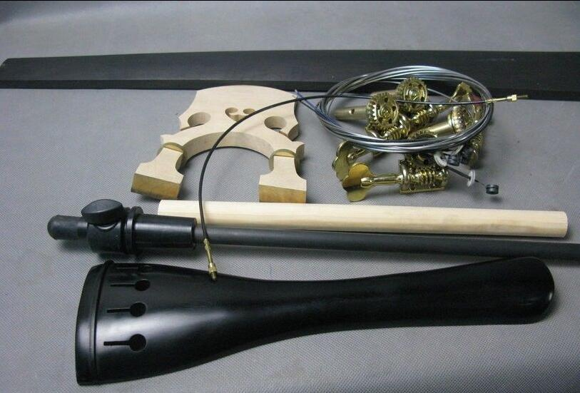 Upright Double Bass Part 3/4 Outfit Pege&tailpiece.fingerboard,endpin Etc Sufficient Supply Violin Parts & Accessories