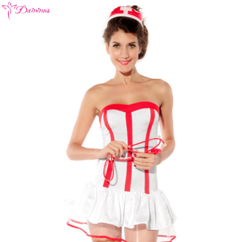 Women Maid Lingerie Sexy Hot Erotic Nurse Costumes Cosplay Role Play Sleepwear Sexy Porn Babydoll Erotic Dress Sexy Underwear