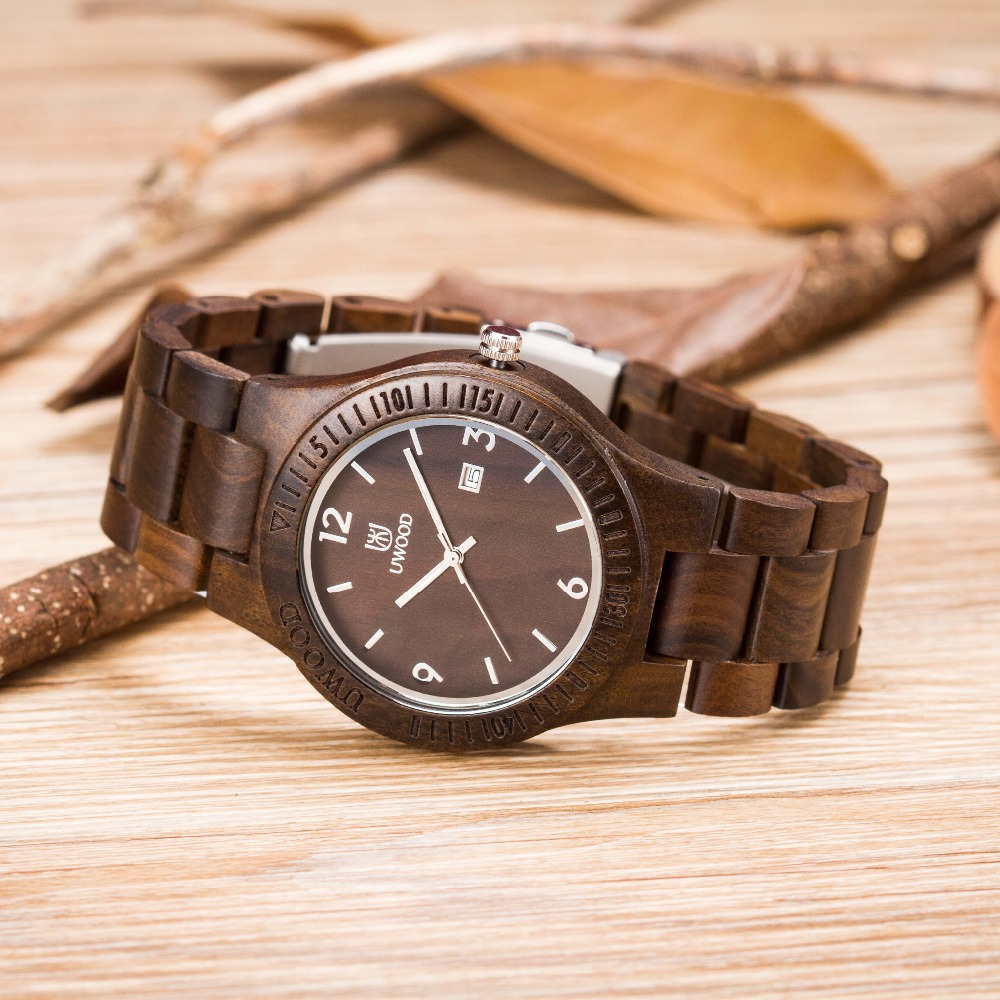 Eco Friendly Sandal Wood Health font b Watches b font Uwood Brand font b Wooden b