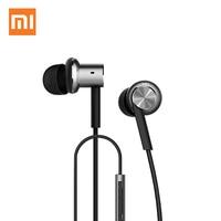 Original Mi Xiaomi Hybrid Piston Dual Driver Piston4 Earphone Headphone In Ear Iron Noise Cancel Mic