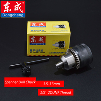 Spanner Drill Chuck 13mm Iron Chuck For Electric Drill Max Capacity 1 5 13mm Bore Diameter