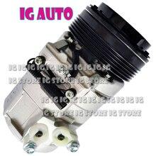 10S17C Auto AC Compressor For BMW X5 4.4i V8 4.4L 2000 2001 2002 2003 64526909628 4471708181 64526917864 4472203325
