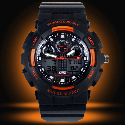 aliexpress com buy new designer dual time sport watches men g new designer dual time sport watches men g style watch waterproof fashion wrist watch for boys