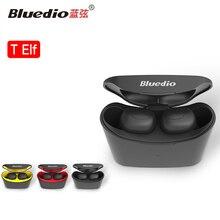Bluedio T-elf мини беспроводные bluetooth наушники стерео настоящие беспроводные наушники спортивные наушники с микрофоном