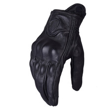 Pursuit Leather Motorcycle gloves Luva Motoqueiro Guantes Moto Motocicleta Luvas de moto Motocross glove Gants Protective Gears