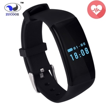 Original DFit D21 Heart Rate Smartband ZB13 Waterproof Swimming Smart Band Health Fitness Tracker Bracelet for Android and iOS