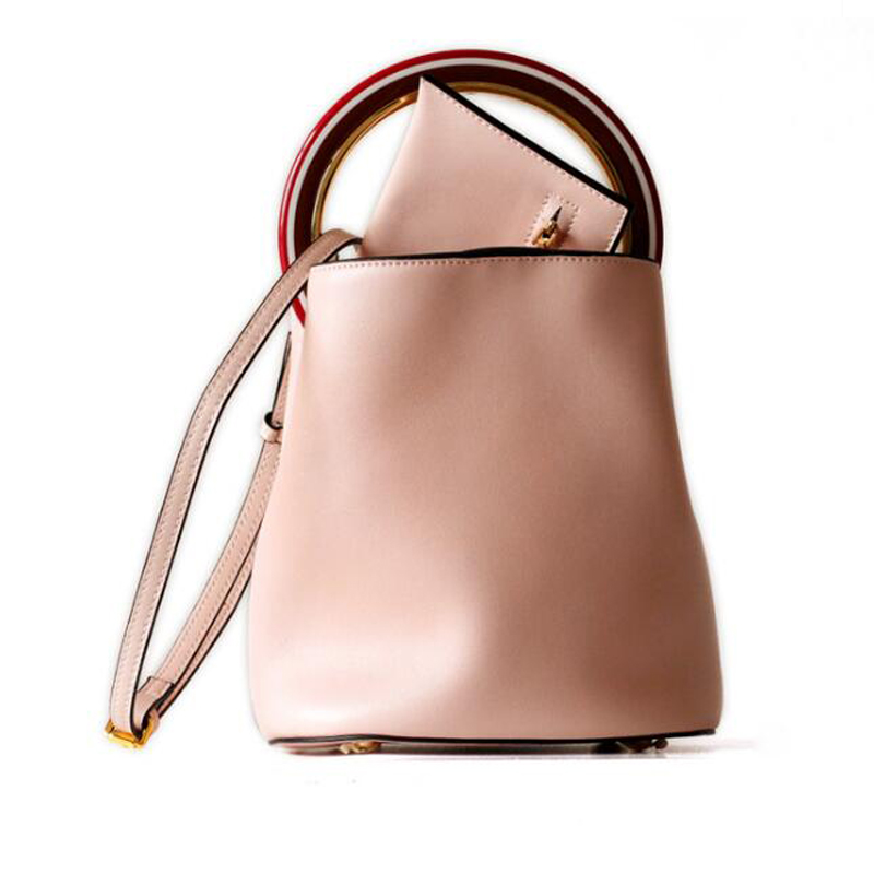 New 2019 Design Small Bucket Bag Women Classic Split Leather Handbags Ladies Messenger Bag For Female ToteNew 2019 Design Small Bucket Bag Women Classic Split Leather Handbags Ladies Messenger Bag For Female Tote