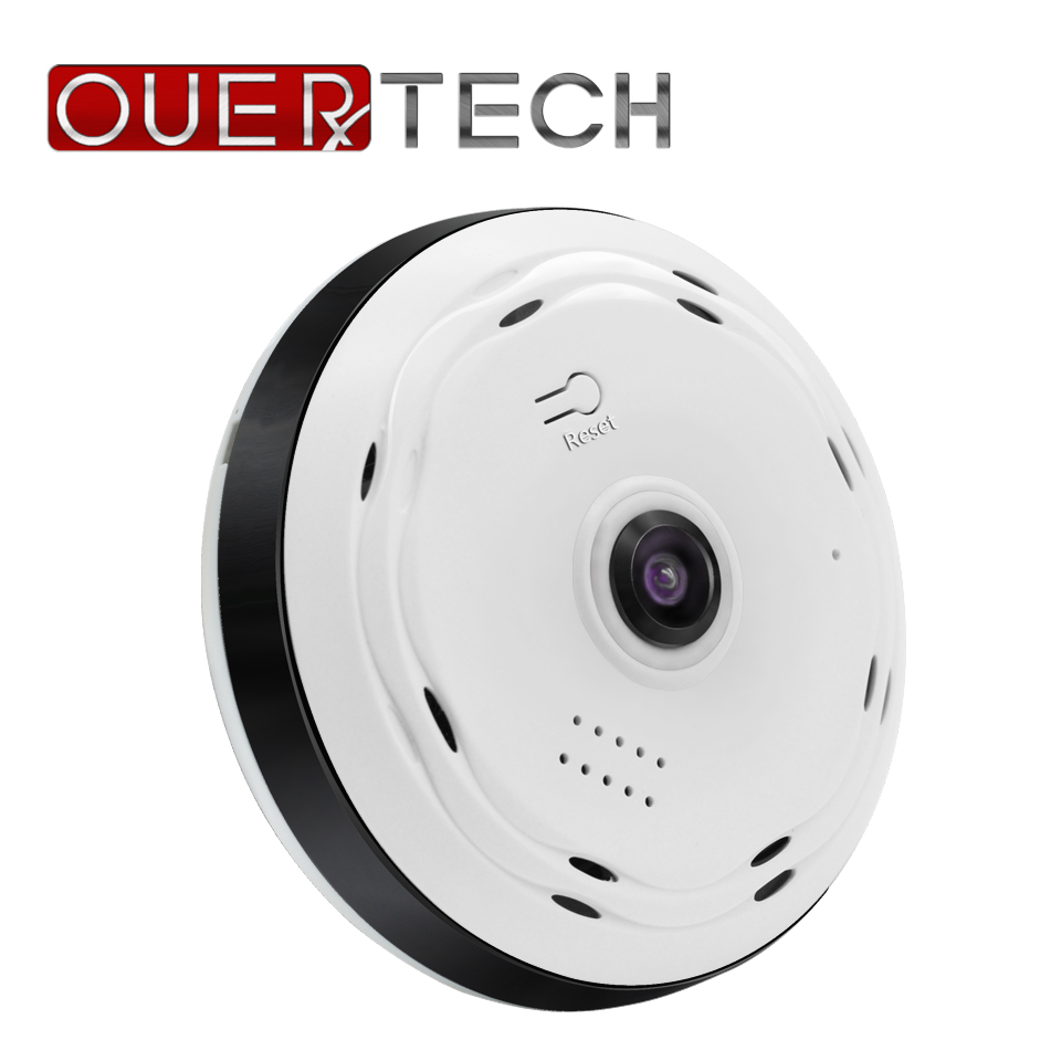 OUERTECH Full View  360 Degree VR  WIFI  Panoramic  960p Home Fisheye Wireless Smart IP  Camera  Support 64g App ICSEE