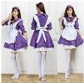 Envío gratis disfraces de Halloween para mujeres la nueva Cosplay del Anime de japón ropa Lolita princesa doncella criada Lolita