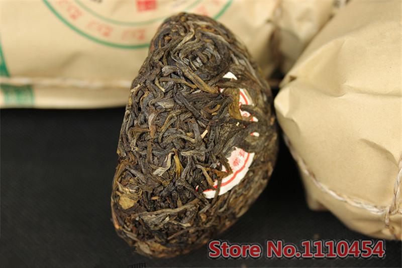 100g yunnan raw puer tea pu-erh pu-erh tea puer Tuo cha Raw Green Tea Food health care food puerh china products