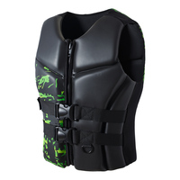 Swimwear Aid Life Jacket Surfing Boating Water Sea Sports Safety Vest Adults